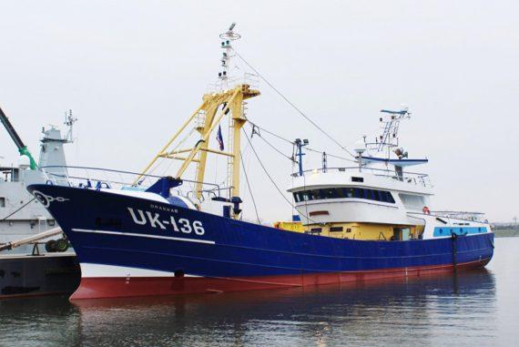 Mise en service duUK 136'Drakkar'par Van der Lee Seafish