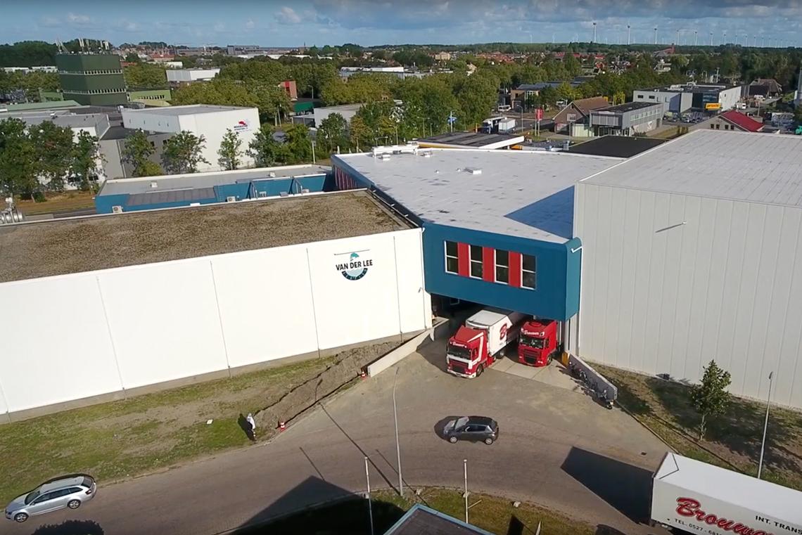 Mise en service d'un nouvel entrepôt frigorifique ; agrandissement substantiel réalisé.