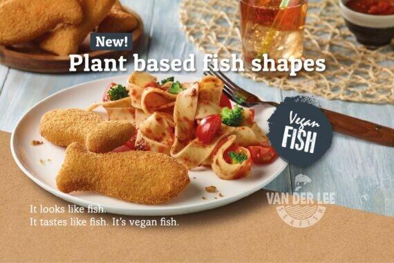 Du Nouveau chez Van der Lee Seafish: DU POISSON VÉGÉTALIEN !